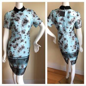 NEW ASOS floral ombré dress